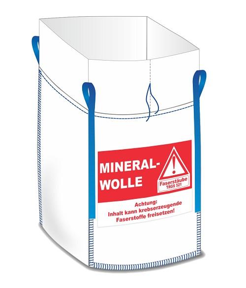 Mineralwolle/KMF Big Bags